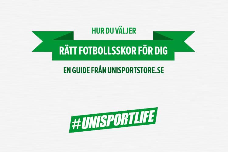 """Läs guiden om """"Hur du väljer rätt fotbollskor för dig"""" av Unisportstore.se  . Klicka på bilden för att se på Unisportstore.se utbud. 8e87d5ef18096"""